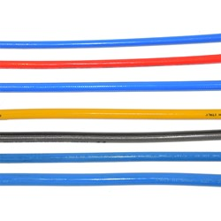 Thermoplastic hose DN 12 120 bar Blue Special Food